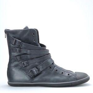 EUC Converse All Star Light Multi Strap Leather